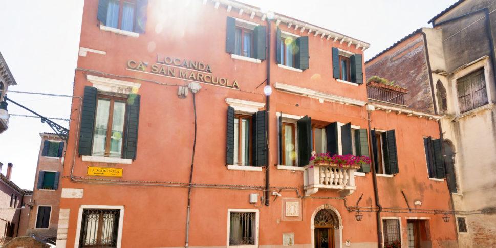 Ca' San Marcuola 1 - La facciata